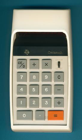 TI-2500 / Datamath Version 0 - First Series