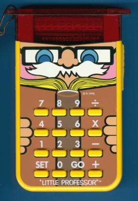 Texas Instruments TI-Little Professor Education Calculator