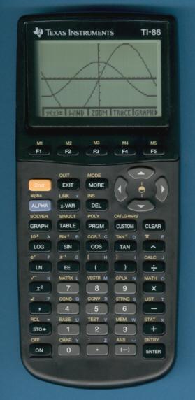 how to program a ti 86