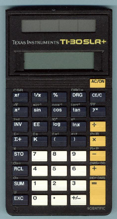 ti 30 slr calculator manual