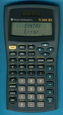 texas instruments calculator manuals ti 30x iis