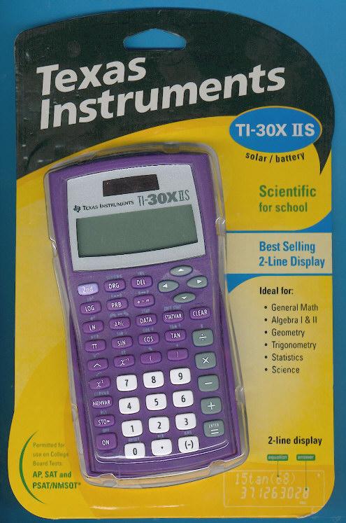 Scientific Calculator Ti 30x Iis Texas Instruments Ti 30x Iis 2