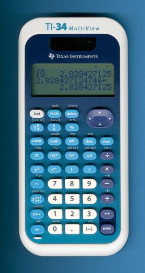 Calculators: ti-10, ti-83, ti-84, ti 84plus, ti-34, ba-ii, sl.