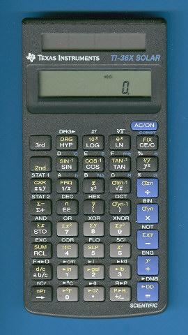 Statistics on ti-36x-solar.