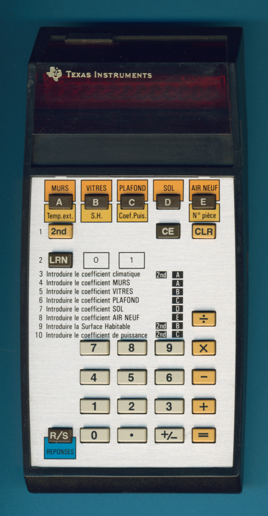 Les premières TI programmables 1/2 TI-58-EDF_ZOOM