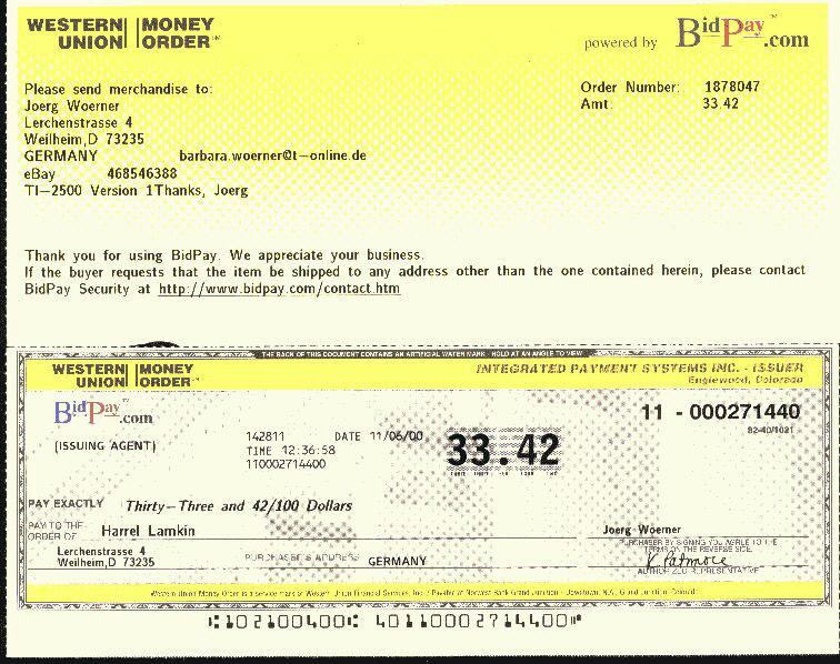 Tutorial Como Llenar Un Money Order Pictures  How To Wiki